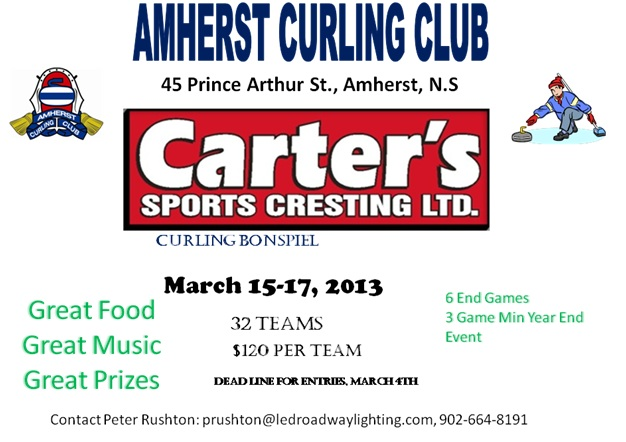 Get your Team for the Carter's Open