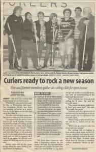 Curlers ready to rock a new season