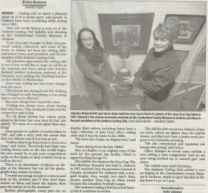 Museum article from Paper, Nov. 22,2013